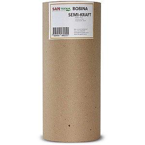 Papel Semi Kraft Bobina 40Cmx200M. 60Grs. Santeck