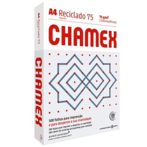 Papel Sulfite A4 Reciclado Chamex Eco 75G 10 Pctx500 Fls International Paper