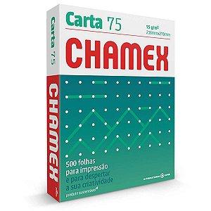 Papel Sulfite Carta Chamex 75G 500 Fls. International Paper