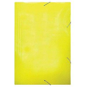 Pasta Aba Elastica Papel Oficio Amarela Frama
