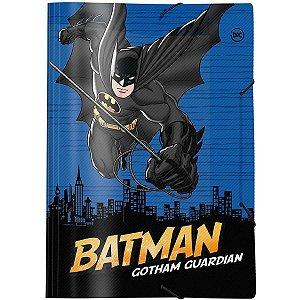 Pasta Aba Elastica Plastica Batman Oficio Dac
