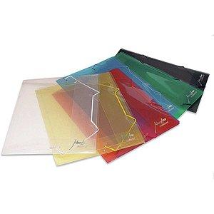 Pasta Aba Elastica Plastica Mini 20Mm Cristal Soft Polibras