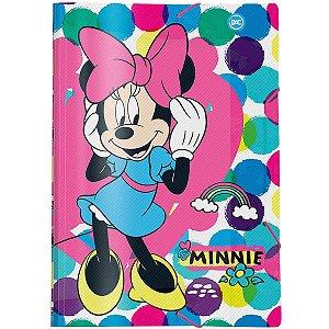Pasta Aba Elastica Plastica Minnie Mouse Oficio Dac