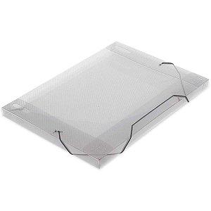Pasta Aba Elastica Plastica Oficio 18Mm Cristal Soft Polibras