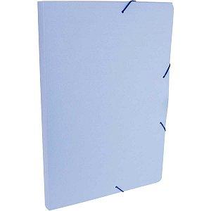 Pasta Aba Elastica Plastica Oficio 20Mm Serena Azul Pastel Dello