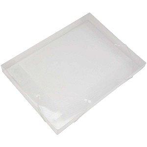Pasta Aba Elastica Plastica Oficio 40Mm Cristal Soft Polibras