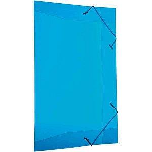 Pasta Aba Elastica Plastica Oficio Azul Delloline Dello