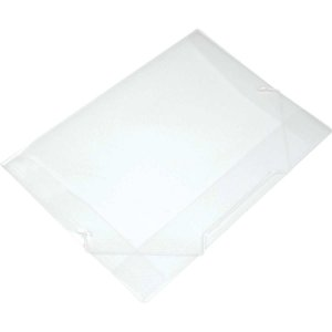 Pasta Aba Elastica Plastica Oficio Cristal Soft Polibras