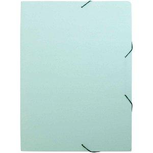 Pasta Aba Elastica Plastica Oficio Serena Verde Pastel Dello