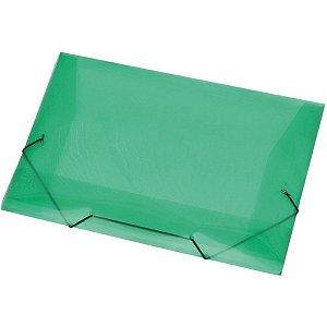 Pasta Aba Elastica Plastica Oficio Verde Acp