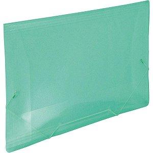 Pasta Aba Elastica Plastica Oficio Verde Line Dac