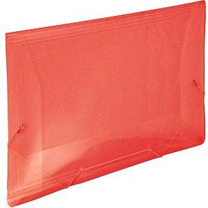 Pasta Aba Elastica Plastica Oficio Vermelha Line Dac