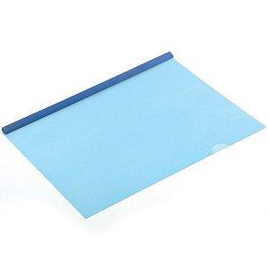 Pasta Canaleta A4 Azul New Line Polibras