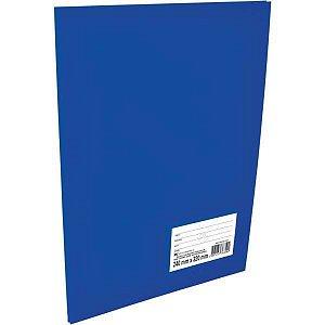 Pasta Catalogo Percalux Oficio 10 Env. Medios Azul Dac