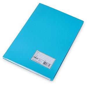 Pasta Catalogo Plastica Oficio Azul 10Envel. Polibras