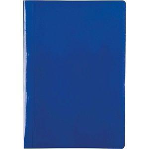 Pasta Grampo Trilho Papel Oficio Azul Delloplex Dello