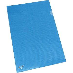 Pasta L A4 Azul 0,15Mm Acp