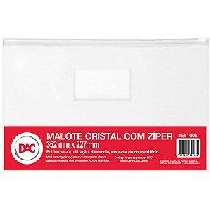 Pasta Malote Cristal C/ziper 352X227Mm Dac