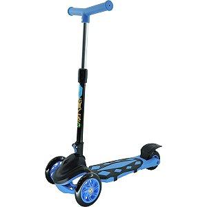Patinete Radical Power Azul Dobravel Dm Toys