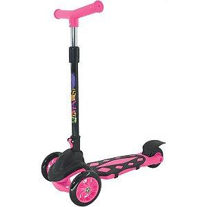 Patinete Radical Power Pink Dobravel Dm Toys