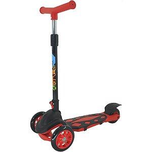 Patinete Radical Power Vermelho Dobrave Dm Toys