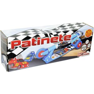 Patinete Radical Top 03 Rodas Azul Dm Toys