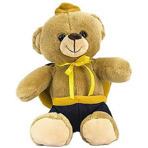 Pelucia Urso Principe 18Cm. Unik Toys