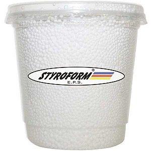Perola De Isopor Pote P300 750Ml. Branco Styroform
