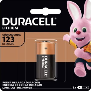 Pilha Alcalina Cr123 3V 6 Blisters X 1 Un Duracell