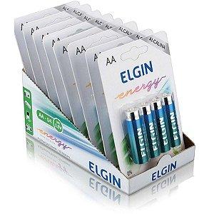 Pilha Alcalina Pequena Aa 10Blistersx4Unids. Elgin
