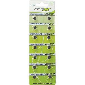 Pilha Bateria Botao Lr66 1.55V. Flex