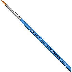 Pincel Artesanal Redondo 432 N.00 Azul Pinceis Tigre