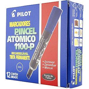 Pincel Marcador Permanente Atomico 1100P Azul Recarreg. Pilot