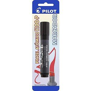 Pincel Marcador Permanente Atomico 1100P Preto Pilot