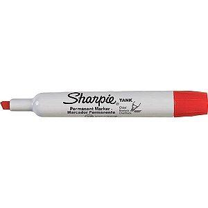 Pincel Marcador Permanente Sharpie Tank Vermelho Paper Mate
