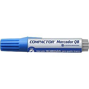 Pincel Quadro Branco Qb Recarregavel Azul Compactor
