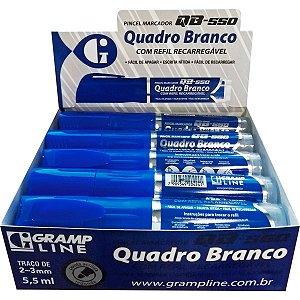 Pincel Quadro Branco Qb550 Preto C/refil Gramp Line