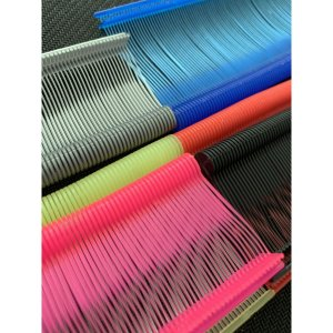 Pino Plastico Fix Pin Anti Furto Verm. 40Mm. Etiq Plast