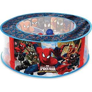 Piscina De Bolinhas Spider-Man 100 Bolinhas Lider