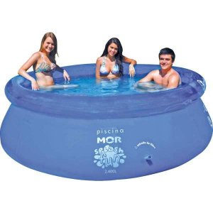 Piscina 2400L Redonda Splash Fun Mor