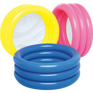 Piscina 80L Redonda Lisa Color Mor