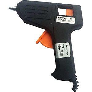 Pistola De Cola Quente 10W Bivolt Pequena Pt. Make+
