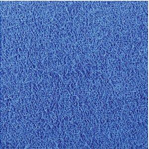 Placa Em Eva Atoalhado 48X40Cm Azul Escuro 2Mm Make+