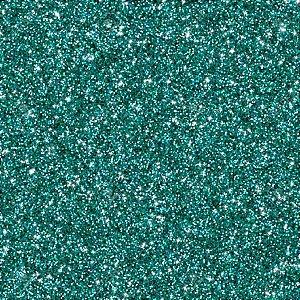 Placa Em Eva Com Gliter 48X40Cm Verde Agua 2Mm Make+