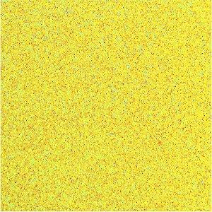 Placa Em Eva Com Gliter 48X40Cm. Amarelo Neon 2Mm. Make+