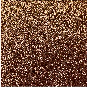 Placa Em Eva Com Gliter 48X40Cm. Marrom 2Mm. Make+