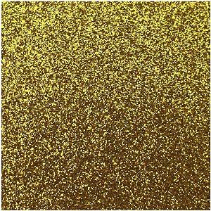 Placa Em Eva Com Gliter 48X40Cm. Ouro 2Mm. Make+