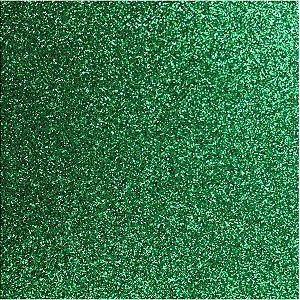 Placa Em Eva Com Gliter 48X40Cm. Verde Grama 2Mm. Make+