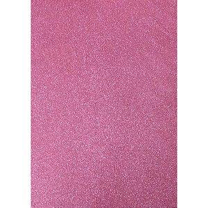 Placa Em Eva Com Gliter 60X40Cm Rosa Bebe 2Mm. Dubflex