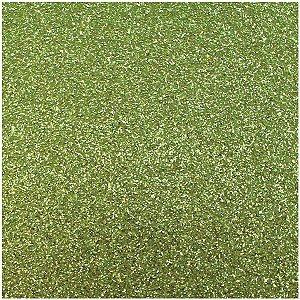 Placa Em Eva Com Gliter 60X40Cm Verde Claro 2Mm Make+